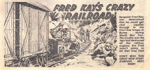 Fred Kay's Crazy Railroad. A Victor story.