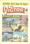 Victor story reviews. Front cover of issue 278. 
